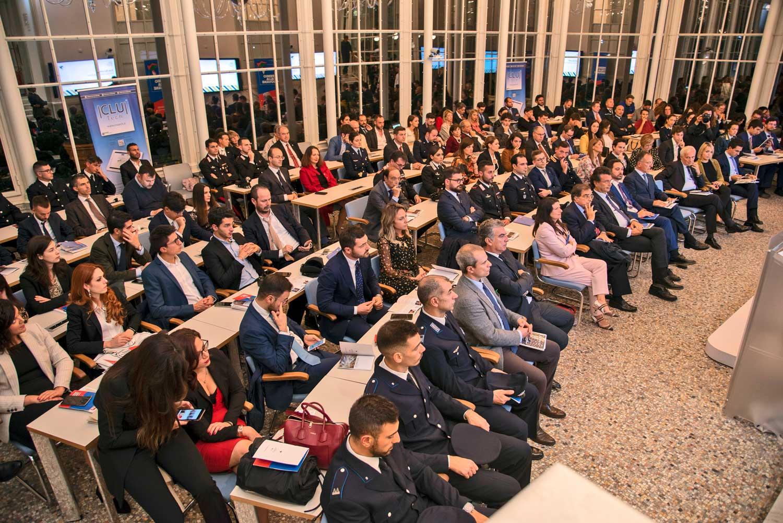 Platea alla Luiss Business School durante la Premiazione del 2019 Premio Italia Giovane